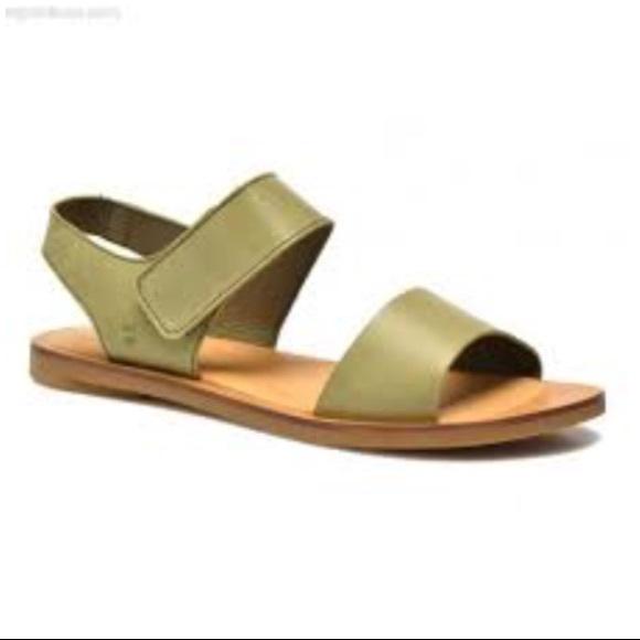 Leather Tulip Sandals Green El Poshmark Naturalista Shoes vqxRC